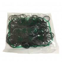 黑色橡皮圈(2cm)
